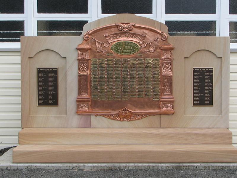 Warra memorial
