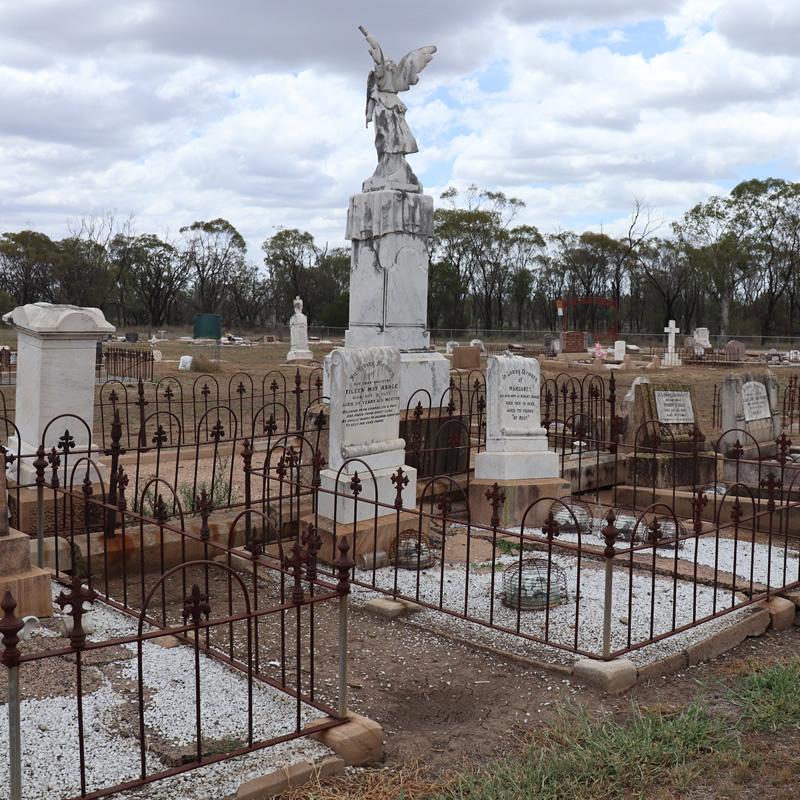 Visit Warra Cemetery