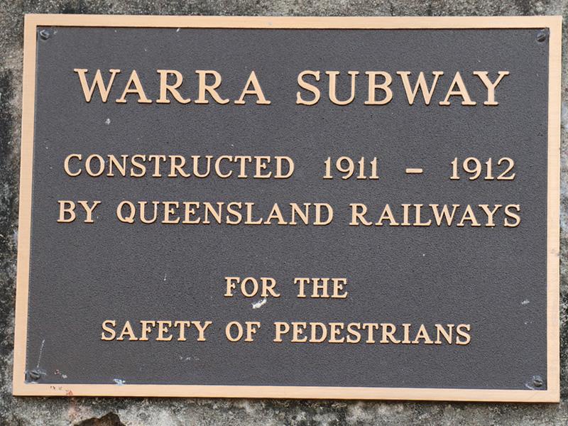Warra Subway