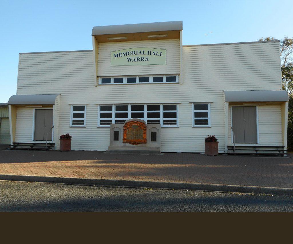 Warra Memorial Hall